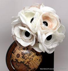 Alternative anemone bouquet