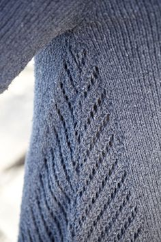 Sweater side panel #details