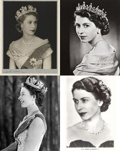 Queen and Crowns--Happy Diamond Jubilee to QEII! God Save the Queen! :)