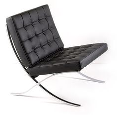 Barcelona chair.