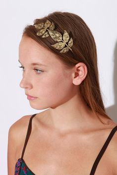 Loose leaf headband from Urban Outfitters