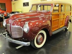 1941 Plymouth Super Deluxe Station Wagon