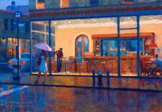 """Joseph Peller. """"A Variegated Light: The City"""" Solo Exhibition at Roberts Gallery, November 6-29, 2014."""