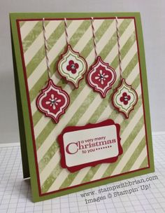 Mosaic Madness, More Merry Messages, Stampin' Up!, Brian King