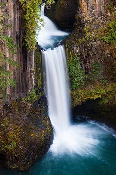 Toketee Falls - Douglas County, Oregon