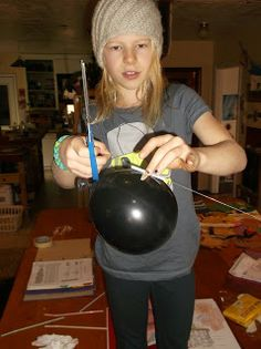 Balloon Physics Activity - for every action there is an equal and opposite reaction