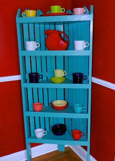 Fiestaware, colorful