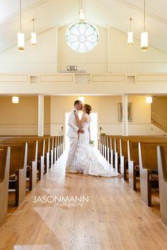 Church wedding in Egg Harbor | Door County Spring Cherry Blossom & Navy Uniform Wedding Sneak Peek. Photos by Jason Mann Photography   ~ 920.246.8106 ~ http://www.jmannphoto.com