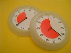 Maak je eigen time timer met een klok van Ikea