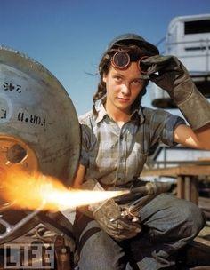 Women At Work During World War II