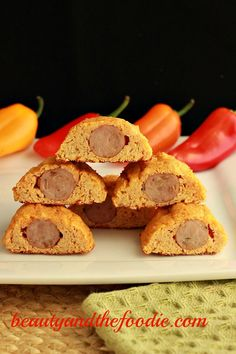 Low Carb Cajun Cauliflower Mini Dogs!! Perfect for easy, low carb, primal, paleo snacking! With adjustable spices. 1.2 net carbs for 2 whole mini dogs!