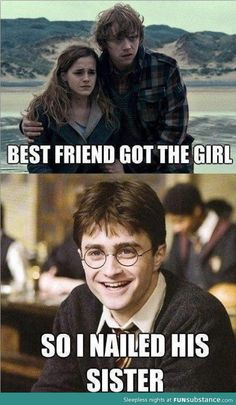 Harry Potter takes revenge
