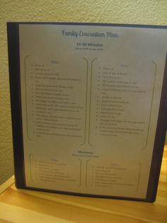 Family Important Documents