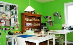 Scrapbooking room