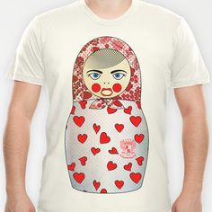 Matryoshka Hearts T-shirt