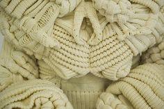 knitwear, detail, extrem textur, textil design, textile design, carlo volpi