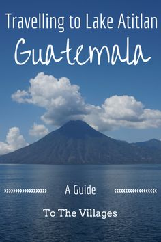"""Everything you need to know about the main villages of Lake Atitlan, Guatemala! It can be difficult to choose which village you want to either live in, or travel in. We've outlined what each village is like around the lake, and what you can do/see at each one. Check out our guide :) <a href=""""http://www.goatsontheroad.com/travelling-to-lake-atitlan-guatemala-a-guide-to-the-villages/"""" rel=""""nofollow"""" target=""""_blank"""">www.goatsontheroa...</a>"""
