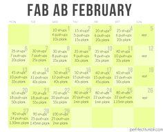 fab ab, 30 day challenge, fit, ab februari, ab challenge