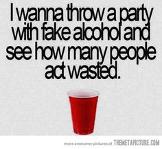 I think about doing this type of thing all the time!   I am one twisted substance abuse counselor...