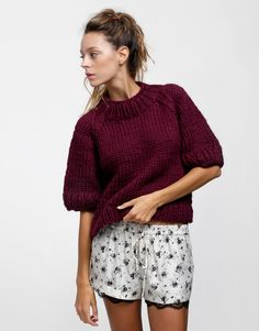 Ashleigh Sweater - wool and the gang