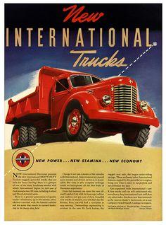 New Heavy Duty International Trucks Ad.