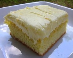 Orange Cake-my dad made this (almost the same) with me when I was little in my easy bake oven :) best memory ever!