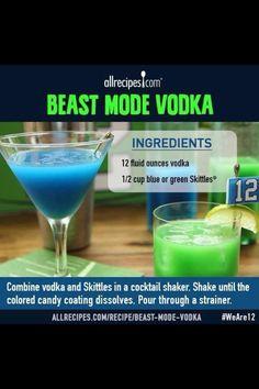 Beast Mode! Seahawks alcoholic beverage (;