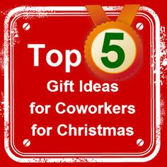 List of 5 gift ideas you can feel proud giving to your coworker by