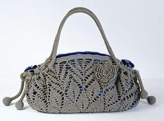 Doily Crochet Handbag: pattern for sale