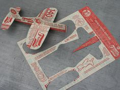 paper airplan, graphic design promo, idea, business cards, airplanes