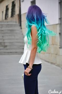 Pretty mermaid hair