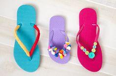 deco flip, easi craft, dresses, birthday party craft ideas, flip flops, flop dress, flipflop, diy, dress up ideas