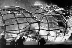 The Hindenburg disaster took place on Thursday, May 6, 1937, as the German passenger airship LZ 129 Hindenburg caught fire and was destroyed during its attempt to dock with its mooring mast at the Lakehurst Naval Air Station, which is located adjacent to the borough of Lakehurst, New Jersey. Of the 97 people on board (36 passengers, 61 crew), there were 35 fatalities, including one death among the ground crew.