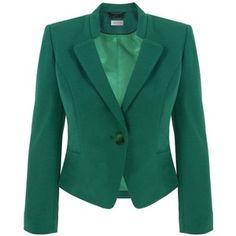 Clover green blazer!