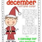 Free!  Pack of December roll and color printables!