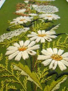 Oh I love this! #Embroidery