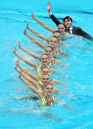 David Tennant In Places He Shouldn't Be!--Synchronized Swimming.