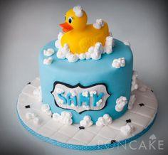 Rubber Duck Cake - Torta de Patito de Hule