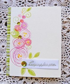After-Hours Ink & Flowers: Papertrey April Blog Hop Challenge ....take two