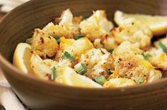 Cauliflower with Orange Zest and Green Onion Recipes More