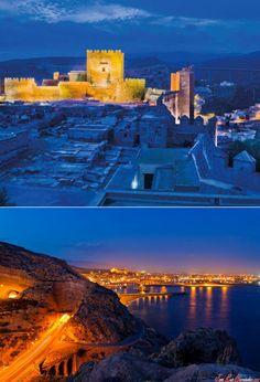 La Alcazaba Castle, Almeria - Spain, #tourism #Almeria, http://tripcaddy.es/