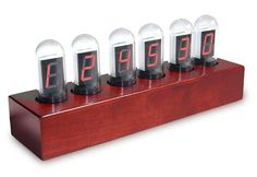 LED Tube Clock.  Kind of want this; too bad it's $80.00.