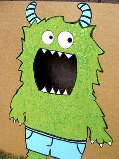 Monster Bean Bag toss!