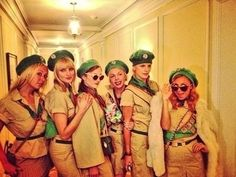 The gang from Troop Beverly Hills | 22 Creative Halloween Costume Ideas For '80s Girls