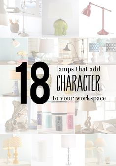 18 stylish desk lamps that add character to your office workspace