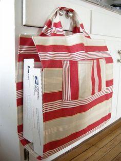 Post Office Bag by Elsie Marley #sew #tute #diy