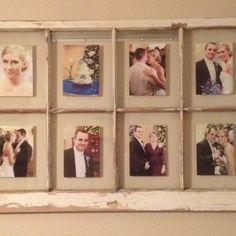 Wedding photo display photo display