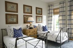 idea, twin bedroom, twin room, bedroomsnit nite, contemporary interiors, countri bedroom, bed guest, guest rooms, bedroom bliss