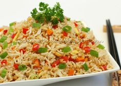 Cooking Thumb: Black Pepper Fried Rice- Substitute Quinoa for the rice and use low sodium Soy sauce.