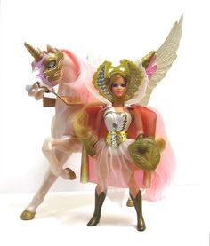 She-Ra. I remember playing with her in the bathtub.